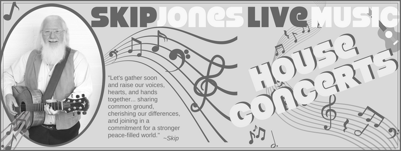 Skip jones house concert image